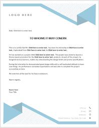 Internship Certificate Template 6 Free Samples Microsoft