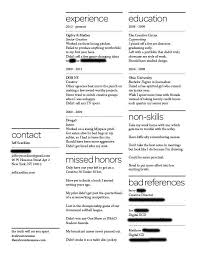 Resume Companies Adorable A Resume Of Failures Stands Out To Employers Business Insider