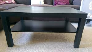 black and brown coffee table brand new lack coffee table black brown side table dark ikea