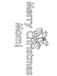 Merry Christmas Coloring Pages Printable 488websitedesigncom