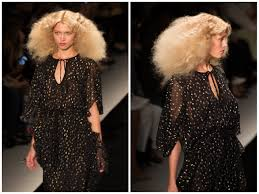 how to create frothy curls with disco texture