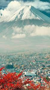 Mount Fuji Japan City iPhone 6 ...