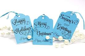 Amazon Com Personalized Gift Tags Christmas Whimsical
