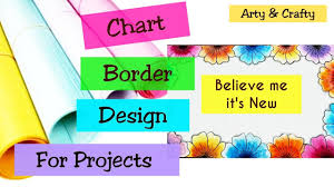 Chart Decoration Ideas For School Chart Paper Decoration Ideas Easy Chart Paper Decoration