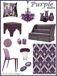 purple home decor stellar interior design