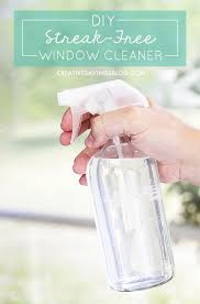 i was so skeptical of this homemade window cleaner but