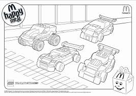 Mcdonalds Happy Meal Coloring Pages Trebleonhuntingtoncom