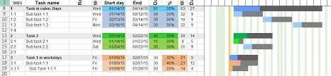 Gantt Chart Template Pro Excel Gantt Chart Template Pro Version For Project