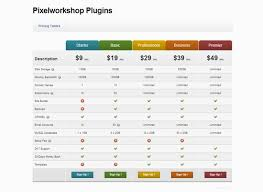 45 Pricing Table Designs for Inspiration Creative CanCreative Can