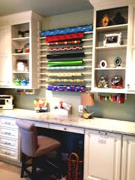 wrap station in new laundry room diy wrapping apartment style the love gift furniture