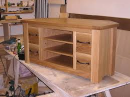 image of how to build a tv stand out of wood