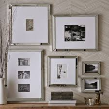 on wall art gallery frames with mirror gallery frames west elm