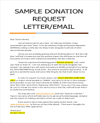 Sample Donation Letters Free 9 Donation Letter Samples In Pdf Doc