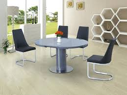 round black glass dining table glass dining table and 4 chairs