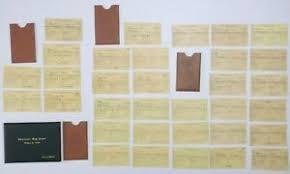 Vintage 1943-1949 RHINELANDER HIGH SCHOOL Report Cards & DIPLOMA~ Joan  Summers   eBay