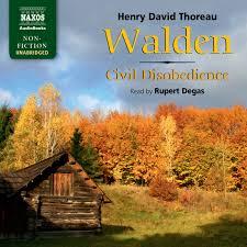 walden and civil disobedience unabridged naxos audiobooks