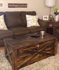 25 unique diy coffee table ideas that fer creative style and rustic coffee tables with storage