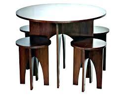 small circular dining table newest half circle decor ng modern round