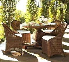 round patio table set round wicker patio table and chairs round outdoor dining table set palmetto