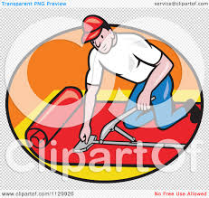 carpet layer. slug clipart carpet cartoon of a retro layer worker in an oval royalty free vector illustration #10241129926 p