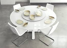 white round table catchy round white dining table set tables industrial rustic white oak cement round