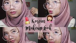 korean makeup look tutorial bahasa indonesia 2017