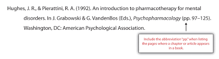 apa and mla documentation and formatting a chapter in an edited book