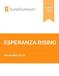 esperanza rising summary supersummary esperanza rising