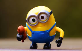 wallpapers minion 4k toys minions deable me