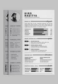 Illustrator Resume 24 Free Editable Minimalist Resume CV In Adobe Illustrator And 4