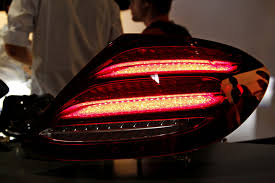 2016 w213 mercedes e class taillights revealed allegedly adapts to ambient light