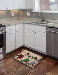 modern kitchen mats. Anti Fatigue Kitchen Mats For Your Flooring Design: Modern With Granite Countertop And