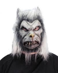 Zlatá Rybka Maska Vlk Vlkodlak