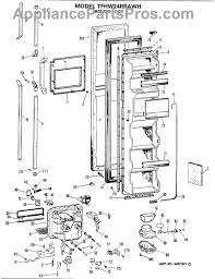 ge wr23x318 dispenser switch appliancepartspros com part diagram