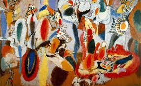 what was abstract expressionism a paint splattered primer on america s first major art movement
