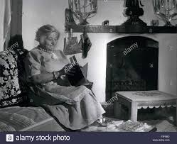 Feb. 24, 1959 - Freda Lawrence in retirement in Taos, New Mexico Stock  Photo - Alamy