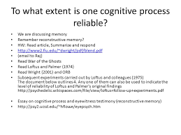 the cognitive level of analysis ppt 61 to