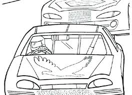 Heavenly Nascar Coloring Pages Ipoiclub