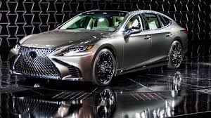 2018 lexus sedan. modren sedan the new 2018 lexus ls500 gets a twinturbo v6 and drives around pedestrians inside lexus sedan y