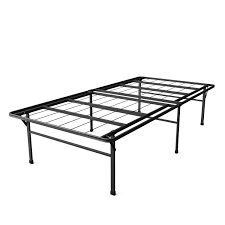 Twin XL Heavy Duty 18 inch High Rise Metal Platform Bed Frame