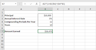 daily interest calculator excel compound interest in excel easy excel tutorial