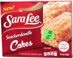 Butter streusel coffee cake pecan coffee cake Sara Lee Snickerdoodle Cakes