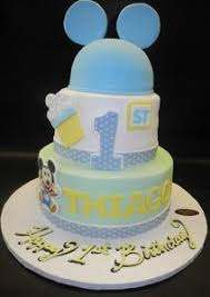 Mickey Mouse First Birthday Cake B0056 Circos Pastry Shop
