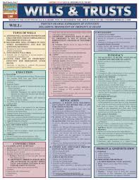 Pdf Download Wills Trusts Laminate Reference Chart
