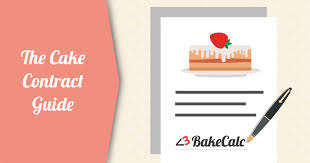 The Cake Contract Guide | Bakecalc