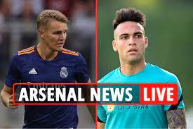 Arsenal transfer news LIVE: Odegaard ...