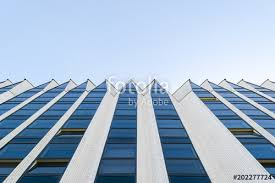 high tech modern architecture buildings. Details Of Office Building Exterior. Business Buildings Skyline Looking Up  With Blue Sky. Modern High Tech Modern Architecture T