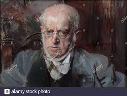 Giovanni Boldini (Ferrara, 31 dicembre 1842 – Parigi, 11 gennaio 1931) - il  pittore Adolf Menzel (1895 Stock Photo - Alamy