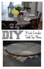 diy round outdoor table. 70 Inch Round Table Top | DIY Tutorial Rogueengineer.com #DIYseating  #diningroomDIYplans Diy Round Outdoor Table N