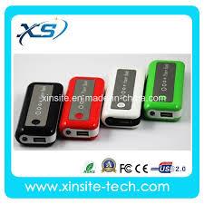 China 5200mAh <b>Top Quality</b> New <b>Mobile Power</b> Bank with LED ...